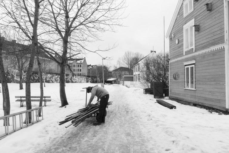 Lemping i Biskop Darres gate. Foto: Rikke Løe Hovdal.