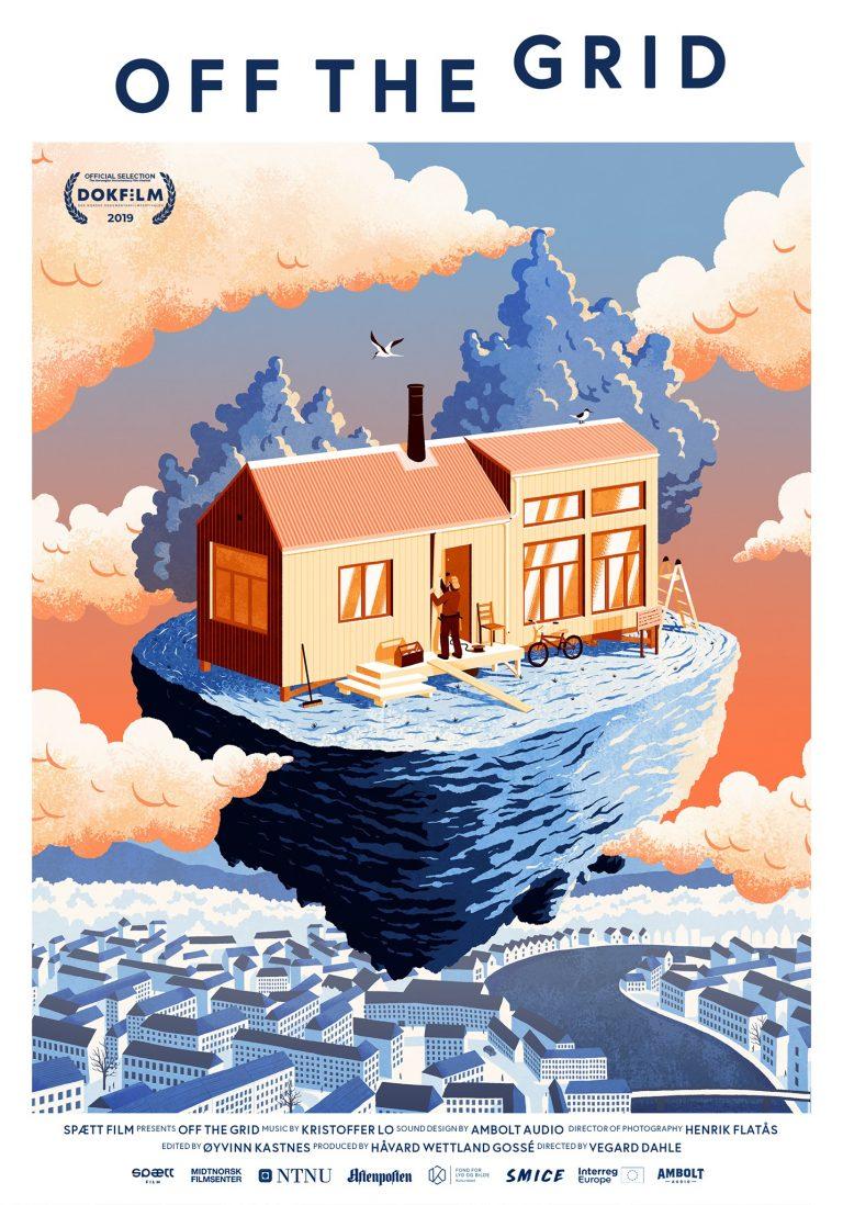Filmplakaten til Off the grid.